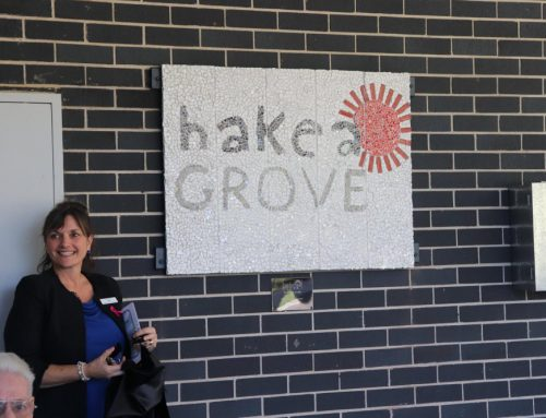 Unveiling of the Hakea Mosaic Sign