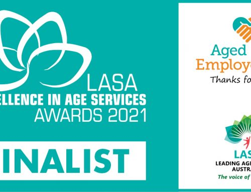 Hakea Grove Celebrate as Finalists in LASA Excellence In Age Service Awards 2021!
